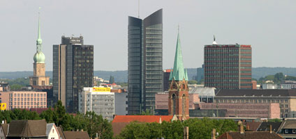 Skyline in Dortmund